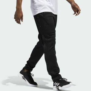 NWT Adidas Black Squad ID Snap Track Pants